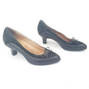 Sofft Super Comfortable Suede heels Size 7.5 M